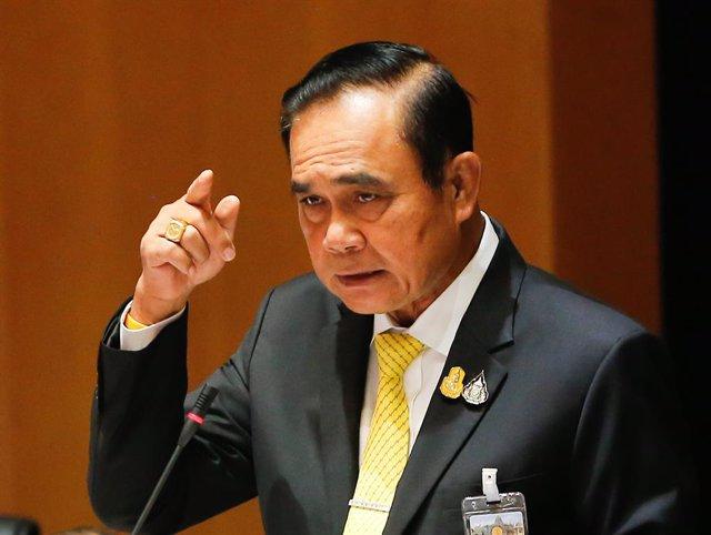 Tailandia.- Prayuth defiende la decisión de la Policía de recopilar información