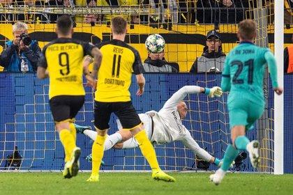 Crónica del Borussia Dortmund - FC Barcelona, 0-0