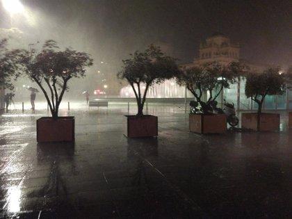 El 112 gestiona 150 incidentes causados por la lluvia en la provincia de Valladolid