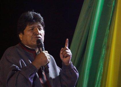Bolivia.- Morales se sitúa en el 43,2 por ciento de intención de voto de cara a las presidenciales, según un sondeo