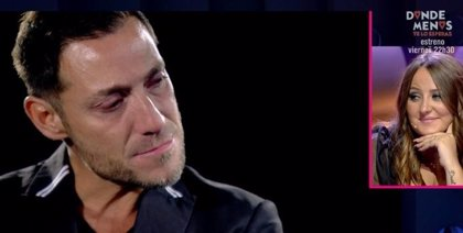 Antonio David recuerda, destrozado, su matrimonio con Rocío Carrasco