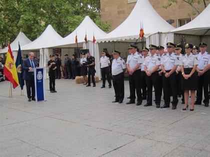 La Policía Nacional celebra su 195 aniversario en Logroño para compartir su trabajo por la seguridad ciudadana