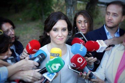 """Ayuso asegura que el Gobierno regional dará """"estabilidad"""" frente a la """"incertidumbre"""" electoral"""