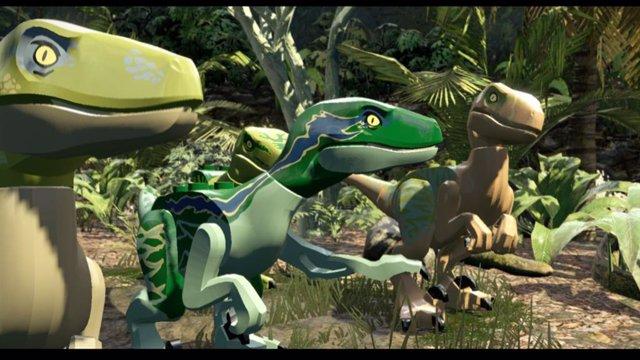 El videojuego LEGO Jurassic World para Nintendo Switch.