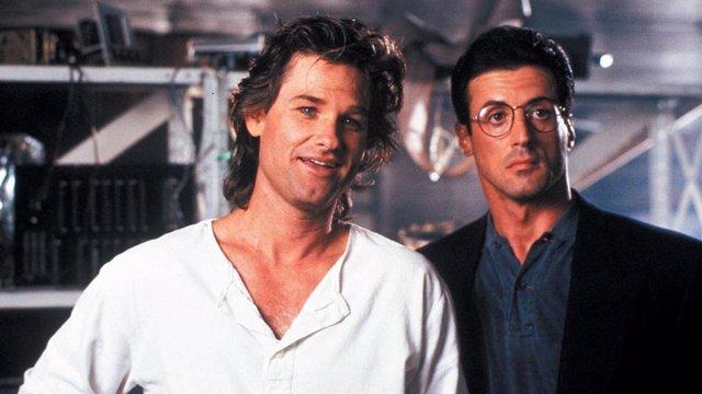 Kurt Russell y Sylvester Stallone son Tango & Cash
