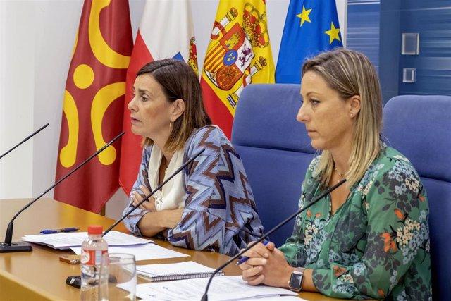 La consejera de Presidencia, Paula Fernández, presenta el calendario de la OEP