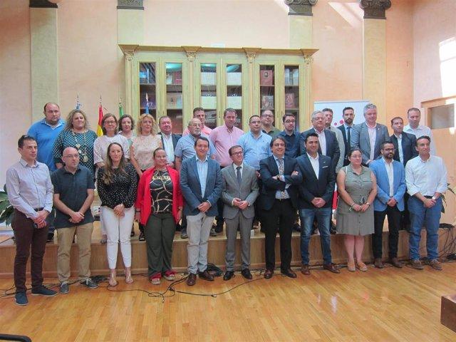 Presentación del Plan de Infraestructuras sanitarias en Badajoz