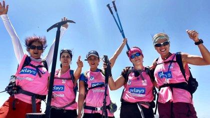 México.- Cinco españolas y una mexicana, supervivientes de cáncer de mama, viajan a Bolivia en el Reto Pelayo Vida Andes 2019