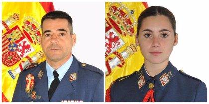 Los fallecidos en el accidente de avión de la AGA son el comandante Daniel Melero y la alférez alumna Rosa María Almirón