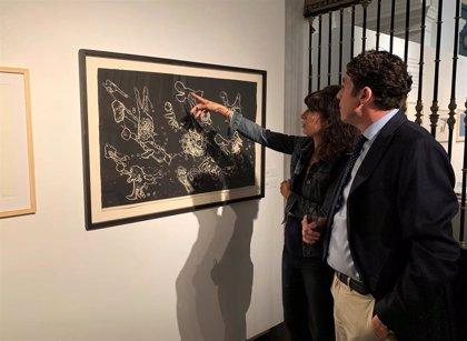 El vínculo de la poesía de Brossa y el arte de Miró en una muestra en Valladolid