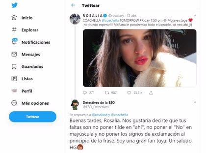 'Detectives de la ESO', el grupo de adolescentes que corrige las faltas ortográficas de famosos en redes sociales