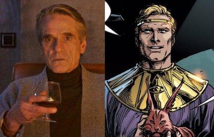 Watchmen: Jeremy Irons luce el traje de Ozymandias en el nuevo tráiler