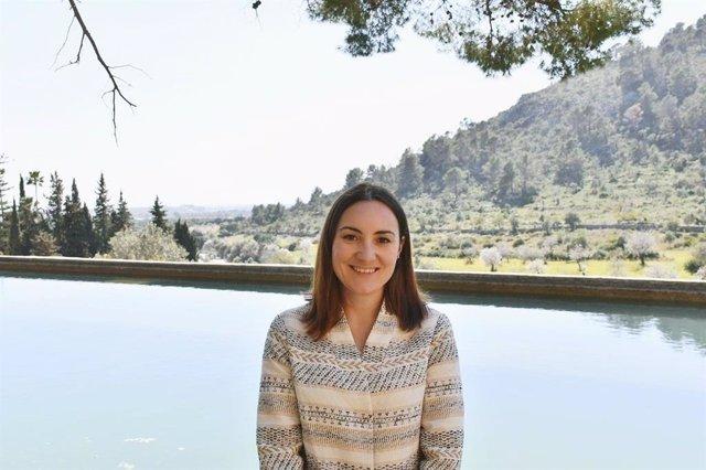 La portavoz de Cs en el Consell de Mallorca, Beatriz Camiña.
