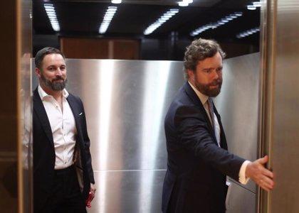 Vox recurrirá a la Junta Electoral si RTVE discrimina a Abascal en los debates