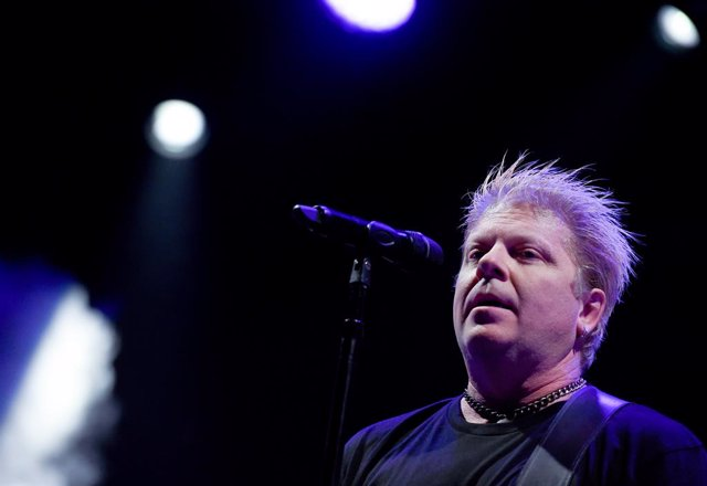 17 August 2019, Austria, Saint Pölten: American musician Dexter Holland from the rock band The Offspring preforms on stage during the 2019 FM4 Frequency Festival. Photo: Herbert P. Oczeret/APA/dpa