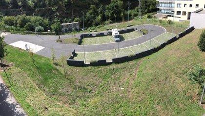 Balmaseda (Bizkaia) abre una nueva área para autocaravanas con 14 parcelas