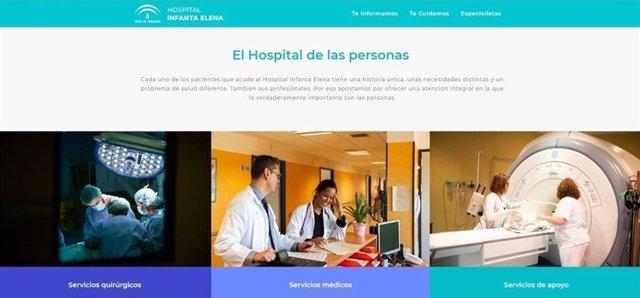 Imagen de la web del hospital Infanta Elena de Huelva.