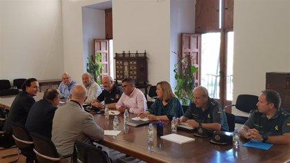 """Fulgencio afirma que las denuncias por robos en la Vega Baja tras el temporal están """"por debajo de lo normal"""""""
