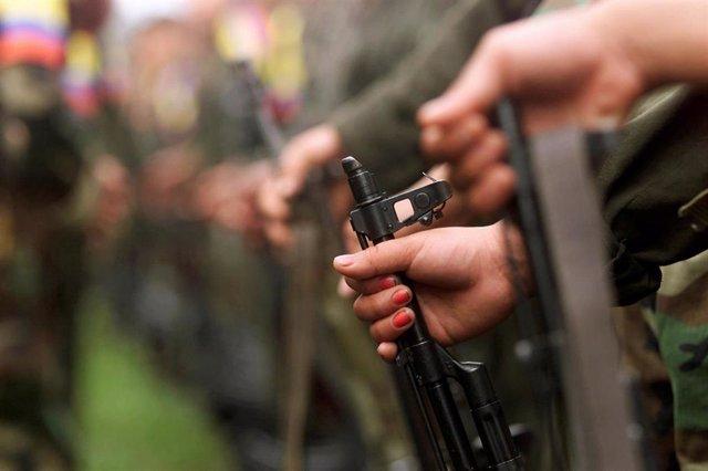 Guerrilleros de las FARC (Imagen de archivo)