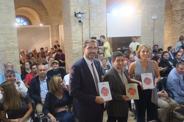 Presentación del libro con indicadores para medir los ODS de Jaén