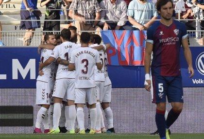 El Huesca vuelve a pinchar y da vida al Albacete