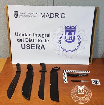 Madrid pone en marcha un programa piloto en determinados distritos para reducir el número de armas