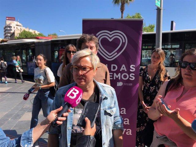 La regidora de Justicia Social, Sonia Vivas.