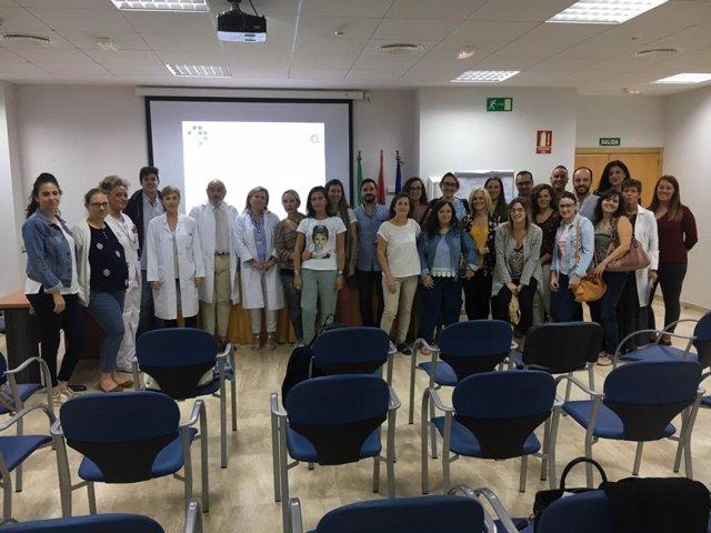 Miembros de la Unidad de Gestión Clínica del Aparato Locomotor del Área Sanitaria Norte de Córdoba