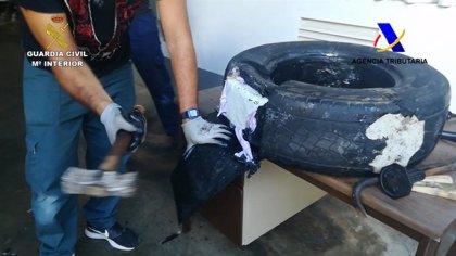 Incautados en Gran Canaria 52 kilos de cocaína escondidos en un barco procedente de Brasil