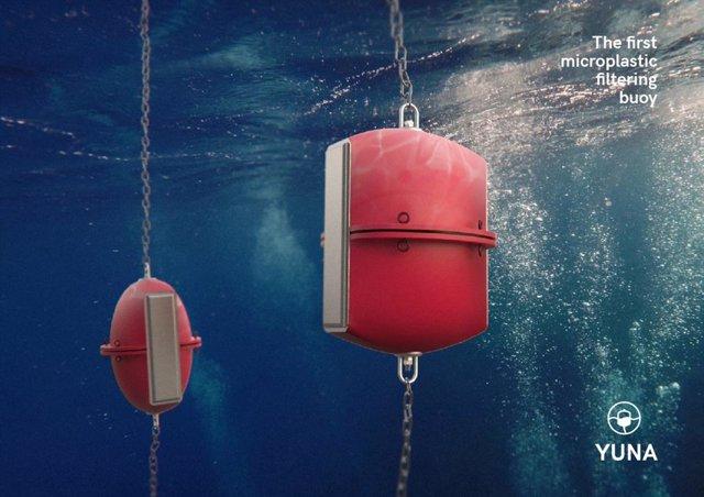 Proyecto YUNA de filtrado de microplásticos mediante boyas.