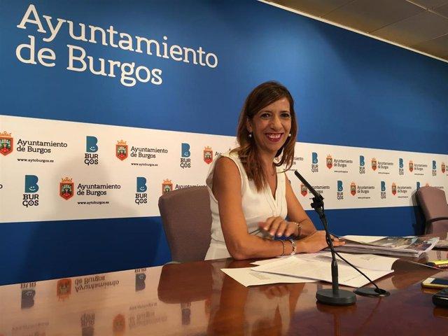 La vicealcadesa y portavoz del equipo de Gobierno, Nuria Barrio.