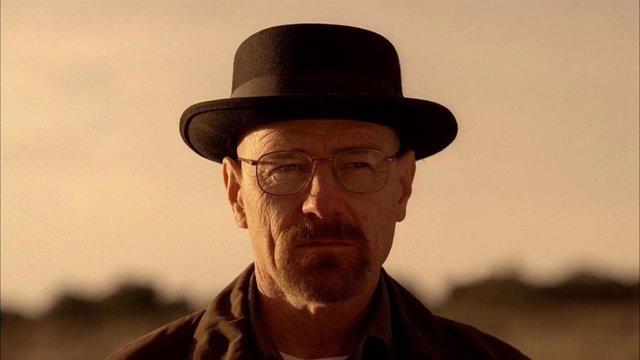 Brian Cranston es Walter White en Breaking Bad