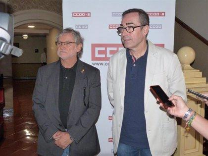 """CCOO considera un """"jarro de agua fría"""" la repetición electoral y llamará a la participación"""