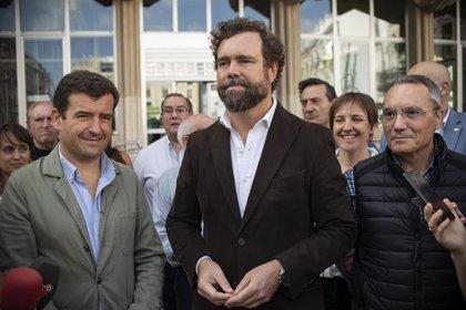 """Espinosa de los Monteros se muestra optimista y confía en que Vox """"dé la sorpresa"""" mejorando resultados"""