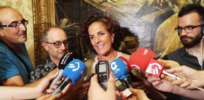 Gómez asiste en Lleida al foro internacional de Piros LIFE sobre la población de oso pardo en los Pirineos