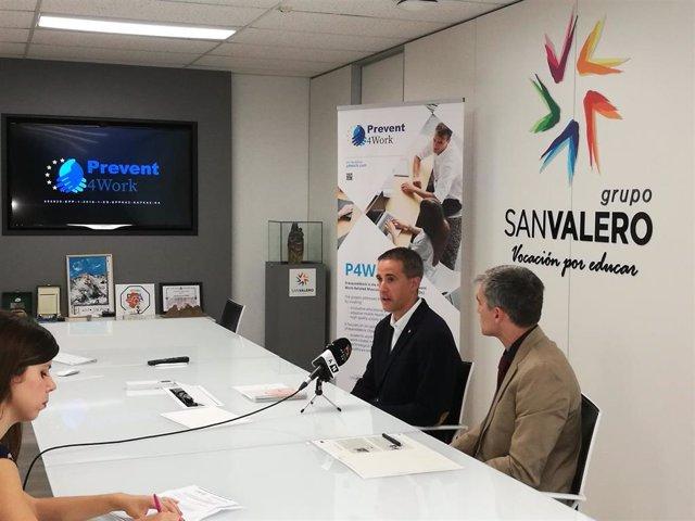 Presentación del proyecto Prevent4Work.