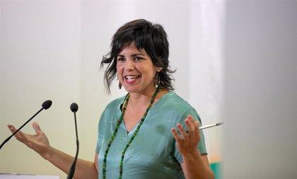 """Teresa Rodríguez respalda concurrir como Adelante Andalucía el 10N """"para sumar"""" y que haya grupo andaluz en el Congreso"""