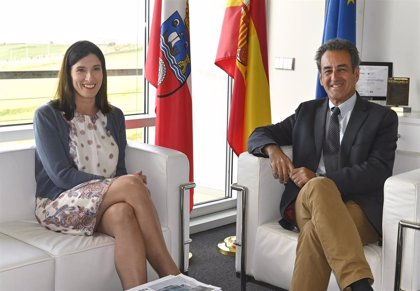 Igual pide a Martín colaboración para el nuevo centro de empresas y el proyecto coworking