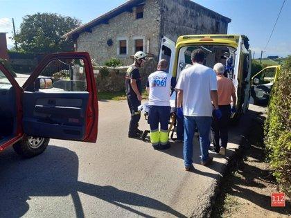 Evacuado un hombre de 72 años de la senda de los Acantilados en San Vicente