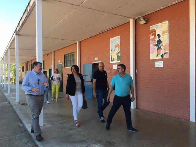 La delegada de Educación, Deporte, Igualdad, Políticas Sociales y Conciliación de la Junta en Huelva, Estela Villalba.