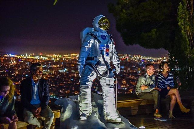 Gran astronauta que ha presidido la ciudad de Barcelona