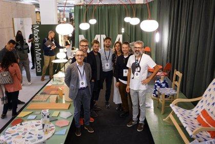 Yllanes visita el stand 'Made in Mallorca' en la London Design Fair