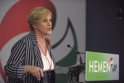 """PNV ve a Mendia nerviosa ante la campaña, porque no se sabe """"con quién quiere lograr"""" Sánchez la mayoría"""