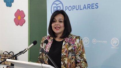 Virginia Pérez (PP) defiende en catalán las ayudas de la Junta para combatir la inmersión lingüística