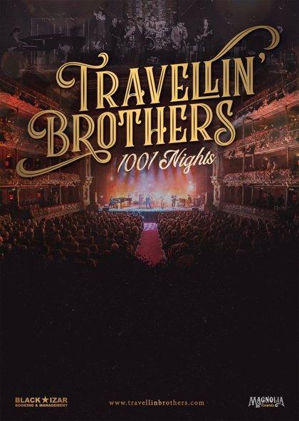 Travellin' Brothers lanzan un directo grabado en el Teatro Arriaga de Bilbao