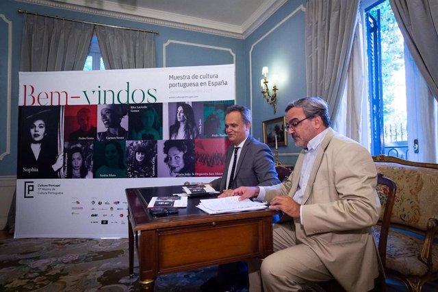 """Cultura Portugal regresa a España con su 17ª edición, """"Bem-vindos', con el Embajador de Portugal en Madrid,  Francisco Ribeiro de Menezes"""