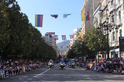 Concluye la 69 edición del desfile del Día de América en Asturias