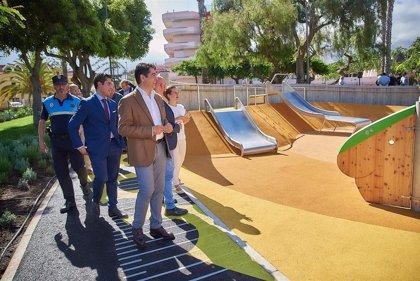 Abre en Puerto de la Cruz (Tenerife) el primer parque inclusivo de Canarias, con casi 6.000 metros cuadrados