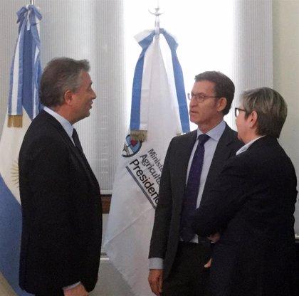 Feijóo y Gobierno argentino avanzan un acuerdo para que barcos que operan en este país se construyan en Galicia