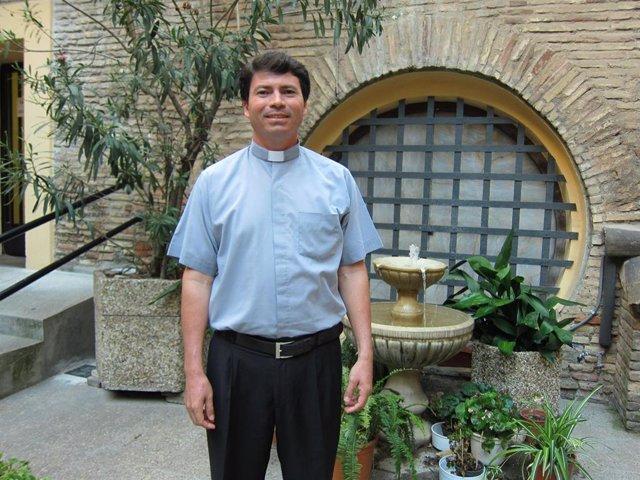 El sacerdote nicaragüense Cristóbal Gadea.